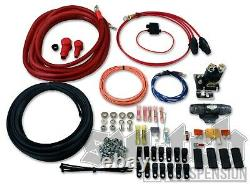 Dual Air Compressor Wiring Kit 4 Gauge Power Wire with Instructions FREE 2DAY SHIP