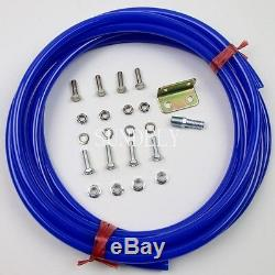 Fast 4 Trumpet Vehicle Air Horn / 12 Volt 6 liters Compressor & Hose 150 PSI Kit