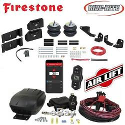 Firestone Ride Rite Air Bags AirLift Air Compressor for 17-19 Ford F250 F350 2wd