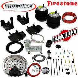 Firestone Ride Rite Air Bags AirLift Air Compressor for GM Silverado Sierra 1500