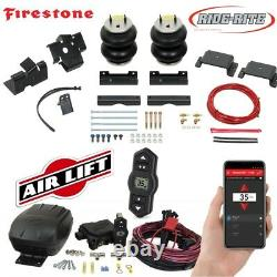 Firestone Ride Rite Air Bags AirLift Compressor for 14-21 Ram 2500 with Rear Coils