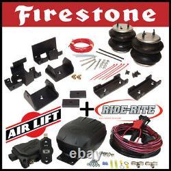 Firestone Ride Rite Kit & AirLift Air Compressor fit 2007-2020 Toyota Tundra