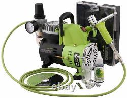 Grex GCK01 Combo Kit with Genesis. XT and AC1810-A Air Compressor Airbrush