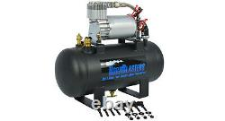 HornBlasters 127H Air Source Kit with 275C Compressor and 1.5 Gallon Tank