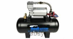 HornBlasters Conductor's Special 127H Loud Train Air Horn Kit VIAIR Compressor
