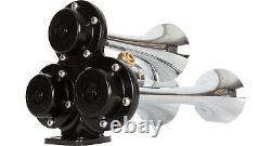 HornBlasters Jackass 127H Loud Train Air Horn Kit with VIAIR 275C Compressor