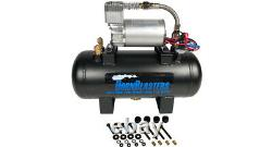 HornBlasters Mother Trucker 127H Loud Air Horn Kit for Semi with VIAIR Compressor