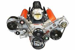 ICT Billet LS Truck Spacing R4 A/C Air Conditioner Compressor Bracket Kit