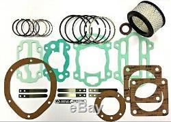 Ingersoll Rand Type 30 Model 242 Rebuild Kit 32249294, 32127375, 32127383