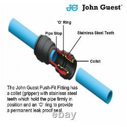 JG Workshop 15mm Pipe Air Line kit -9m Kit Includes Hi Flow (euro) Couplings