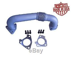 KBDP Exhaust Up Pipes Manifolds to Turbo 6.6l Duramax Chevy GMC 2001-16 LB7-LML