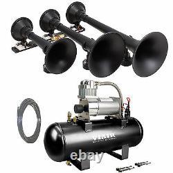 Kleinn 730 Air Horn The Demon Train Horn with VIAIR 20005 150psi Air Kit 158 db