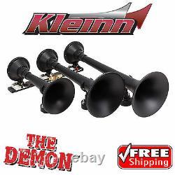 Kleinn 730 Air Horn The Demon Train Horn with VIAIR 480c 2.5G 200psi Kit 158 db