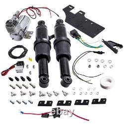 Left & Right Air Ride Suspension Conversion Kit For Harley Davidson Motorcycle