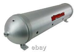 Level Ride Preset Pressure & airmaxxx Air Management 580 Chrome & Brushed Tank