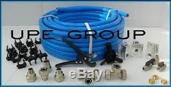 MaxLine COMPRESSED AIR TUBING piping system Master Kit 3/4 pipe x 100 FT M7500