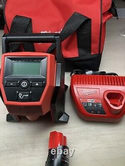 Milwaukee 2475-21 M12 Volt Cordless Inflator Kit w 1.5 Battery/Charger & Bag New