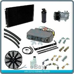New AC Air Conditioner Kit 12v fits ALL vehicles with Serpentine Compressor