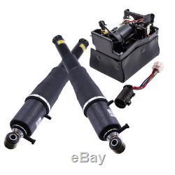 New Rear Air Ride Suspension Shocks & Compressor Kit Fit Chevrolet 1500 Z55