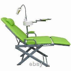 Portable Dental Unit with Air Compressor + Dental Chair + Handpiece Kit 2H/4H