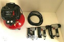 Porter-Cable PCFP3KIT 6 Gal. 150 PSI Portable Electric Air Compressor kit, L. N