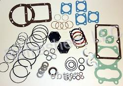 Quincy 325 Tune Up Kit Gaskets Rings Valves Seals Parts roc 9-UP