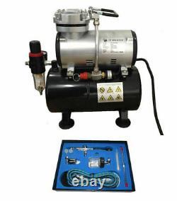 Rdg Tank Compressor Kit 134k Air Brush Air Compressor With 134k Pro Kit