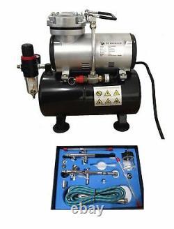 Rdg Tank Compressor Kit 280k Air Brush Air Compressor With 280k Pro Kit