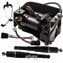 Rear Suspension Air Shocks & Compressor Kit for Chevy Avalanche Z55 2007-13