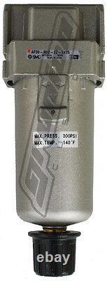 SMC 1/4 NPT Water Trap 300 PSI Air Bag Suspension Ride Tank Compressor