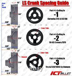 Sanden 508 LS Truck SUV A/C Air Conditioner Compressor Bracket Kit LSX AC