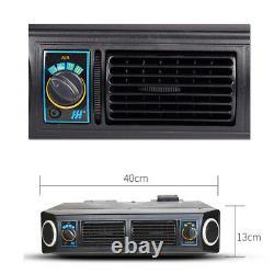 Underdash Auto Car AC Evaporator 12V Heat & Cool Air Conditioner Compressor Kit
