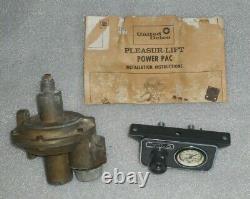 United Delco Pleasur-lift Power Pac Air Shock Compressor Kit Vintage 60's