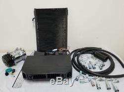 Universal Under Dash AC Air Conditioning Evaporator Kit Heat Cool A/C Compressor