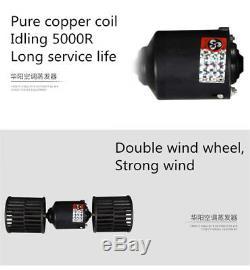 Universal Underdash AC Evaporator 12V Heat & Cool Air Conditioner Compressor Kit