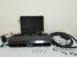 Universal Underdash Air Conditioning AC Evaporator Kit Compressor Fittings Hoses