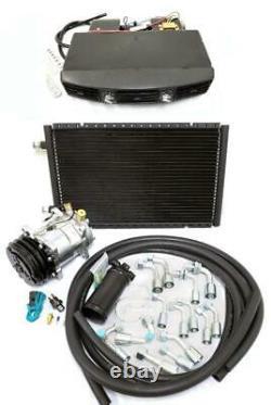 Universal Underdash Air Conditioning AC Evaporator Kit Serpentine Compressor