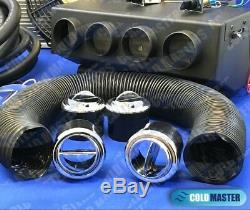 Universal Underdash Air Conditioning COMPRESSOR 2A 404-000DC & ELEC. HARNESS