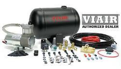 VIAIR 10000 Ultra Light Duty On Board Air System 98c Compresser 1 Gal. Kit horns