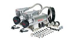 VIAIR Dual 485C Truck Mount Platinum Air Compressors Kit for Train Horns 12V