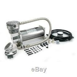 Viair 480C Chrome Compressor Kit 3/8 Port (200 PSI 100% Duty / Sealed) 48043