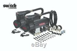 Viair Dual Black 485C 200 PSI Air Compressor Kit Gen 2, Lower Decibel