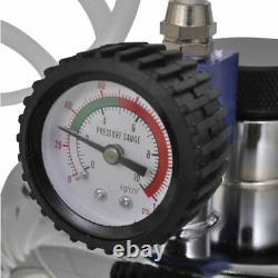 VidaXL Pneumatic Air Pressure Bleeder Kit Brake and Clutch Valve System Kit