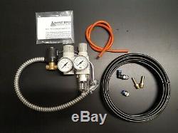 Waste Oil Heater Parts Omni / Reznor / Energylogic shop air kit, air compressor