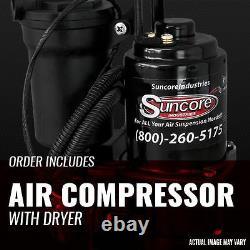 07-14 Chevy Suburban 1500 Rétro Autoride Air Shocks Conversion Avec Kit Compresseur