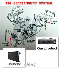 12v A / C Kit 32 Passe Coil Underdash Compresseur Évaporateur Climatiseur 3 Vitesse