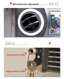 12v A / C Kit Universal Compresseur Underdash Évaporateur Climatiseur 3 Vitesse
