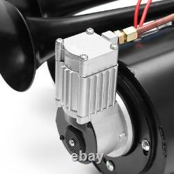 170psi 150db Air Compressor Huge Sound Complete System Train Air Horn Kit 12v