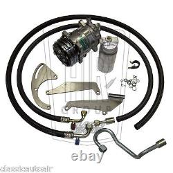 1971-1973 Camaro Sb V8 A/c Compresseur Upgrade Kit Ac Air Conditioning Stage 1