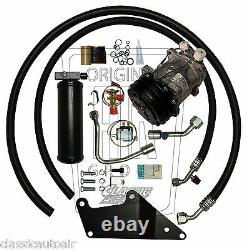 1973-74 Chargeur Big Block Ac Compresseur Upgrade Kit A/c Air Conditioning Stage 1